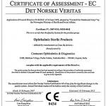 Certificate of Assessment EC DET Norske Veritas